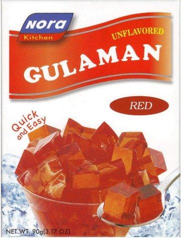 Nora Gulaman Red Unflavored 3.17 Oz