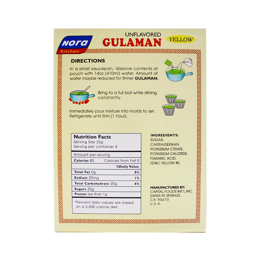medium nora gulaman yellow unflavored 317 oz Kw2nZKavu