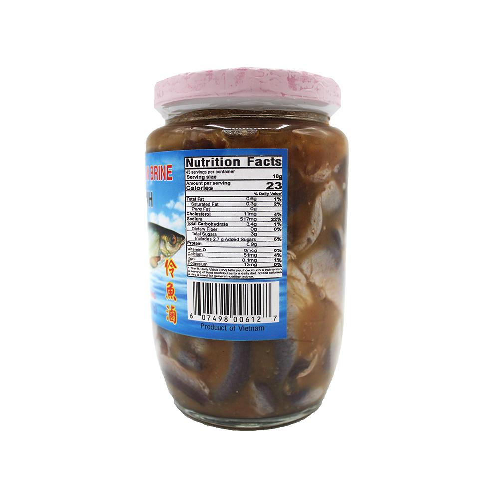 medium rockman salt dorab fish in brine mam ca linh 15 oz 97l6rbrm
