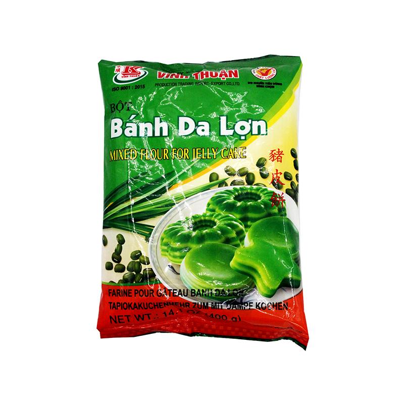 Vinh Thuan Mixed Flour For Jelly Cake / Bot Banh Da Lon 14.1 Oz