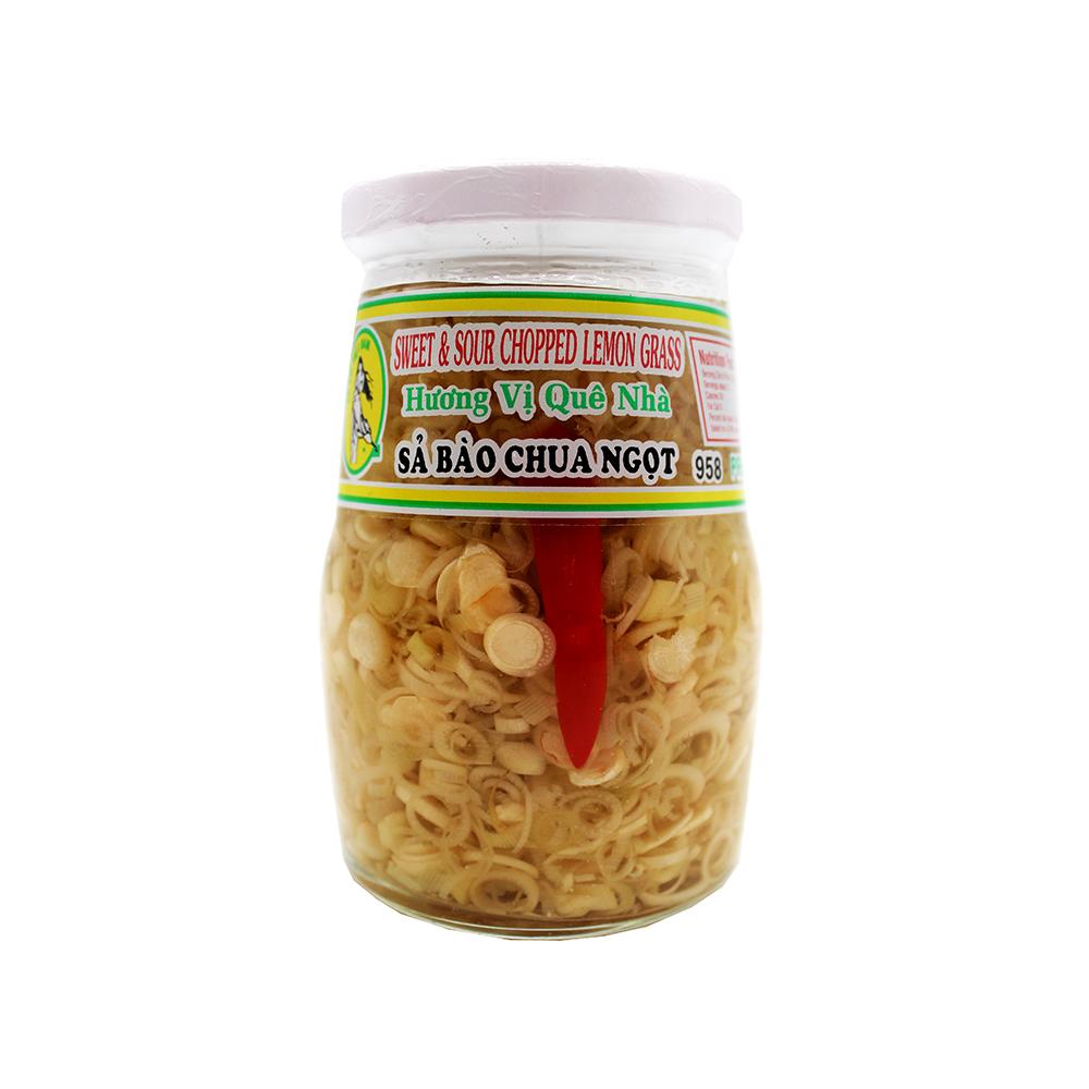Co Gai Viet Nam Sweet & Sour Chopped Lemon Grass / Sa Bao Chua Ngot 14 Oz