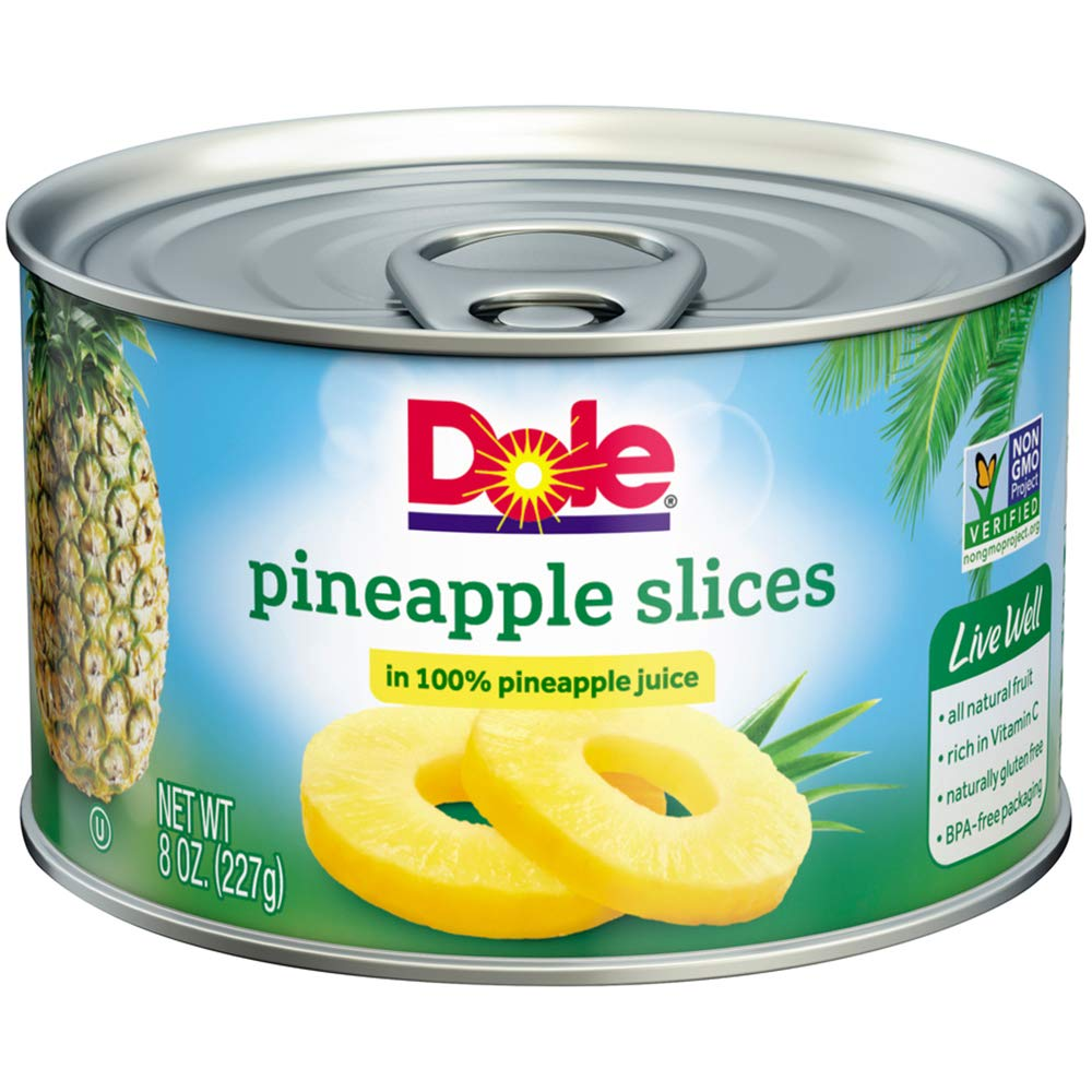 medium dole pineapple slices in 100 pineapple juice 8 oz 5ZasFntI4
