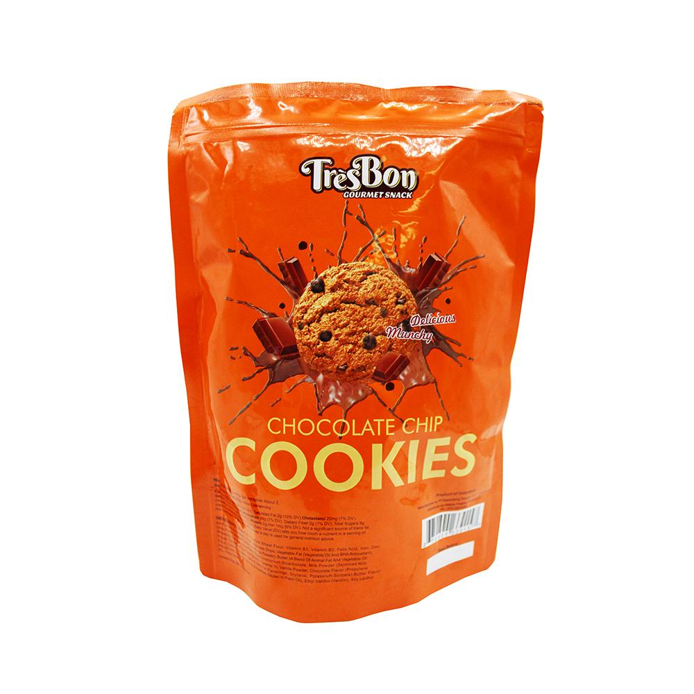 Tresbon Chocolate Chip Cookies 8.8 Oz