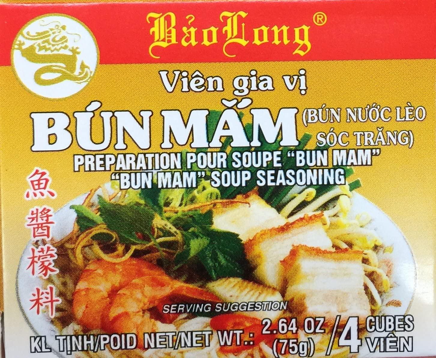 medium baolong soup seasoning gia vi bun mam 264