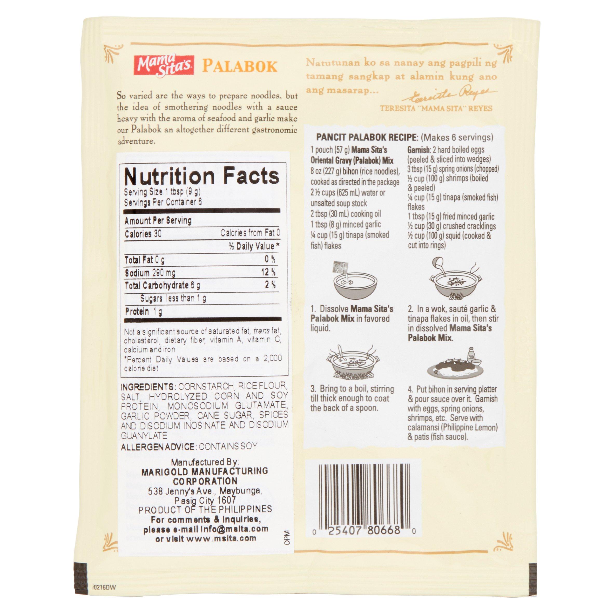 medium mama sitas palabok oriental gravy mix 2 oz i2w7OORroG