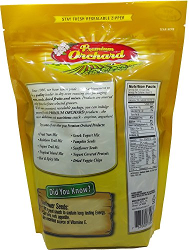 medium premium orchard sunflower seeds roasted with sea salt 14 oz Z25 CD7rr