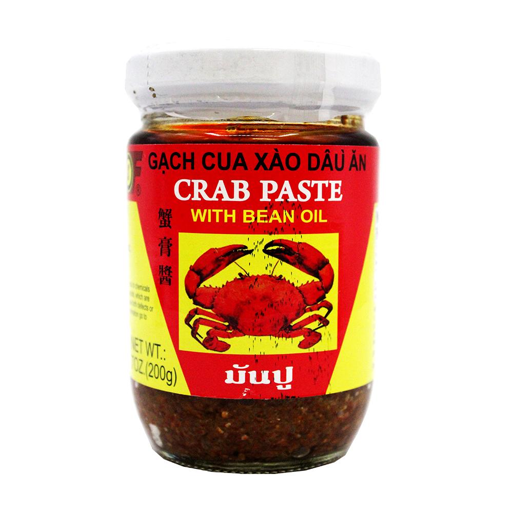1St Of Crab Paste With Bean Oil / Gach Cua Xao Dau An 7 Oz