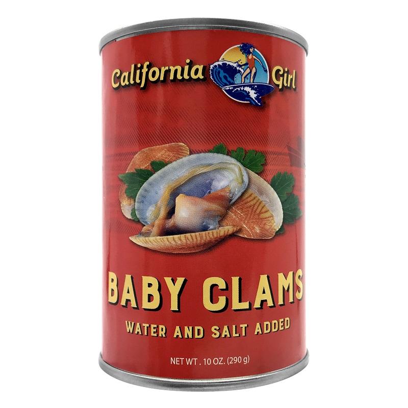 California Girl Baby Clams 10 Oz