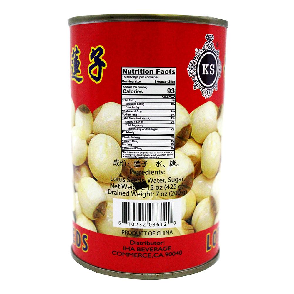 medium ks lotus seeds in syrup 15 oz n H2RbZUI