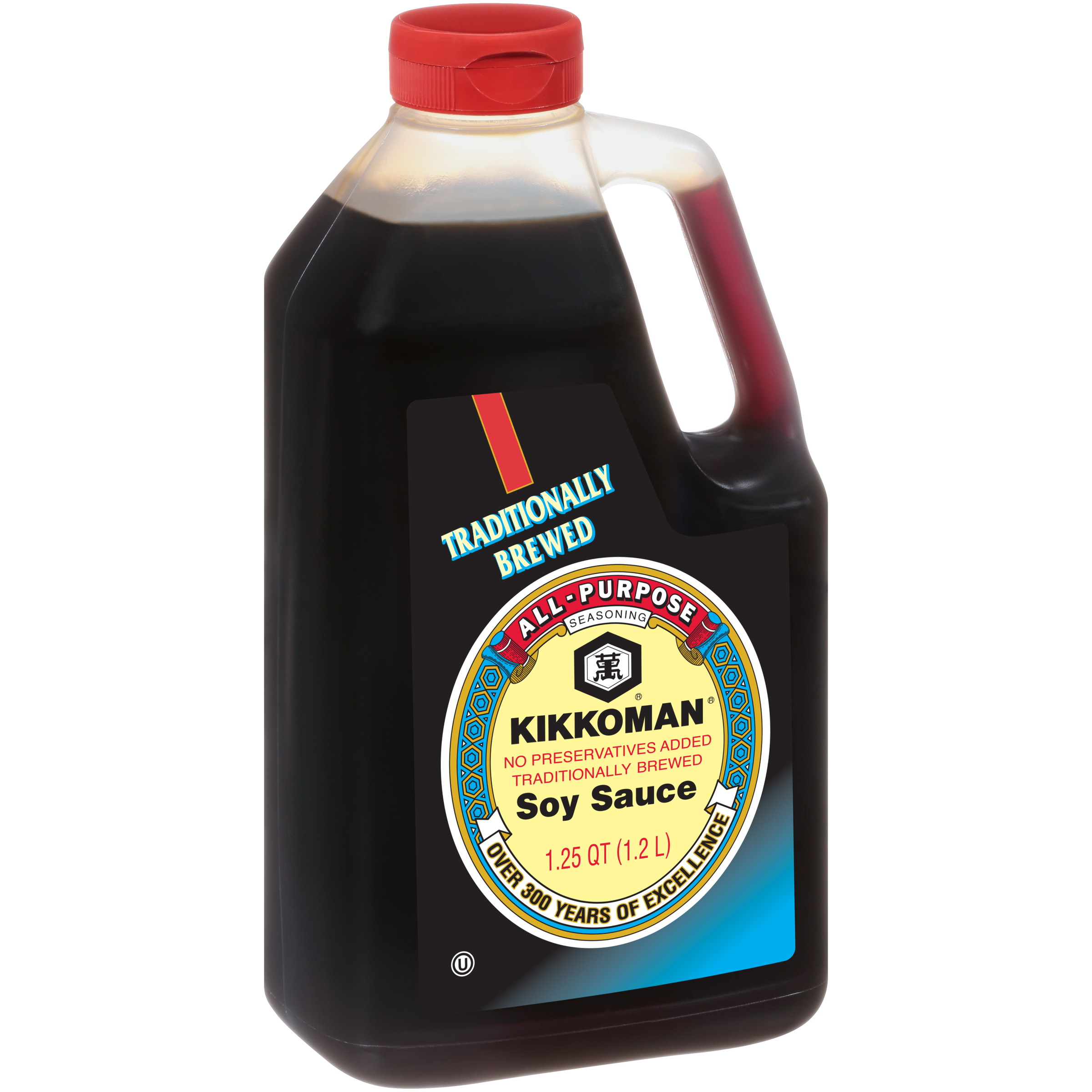 KIKKOMAN Soy Sauce Traditionally Brewed 1.2 L