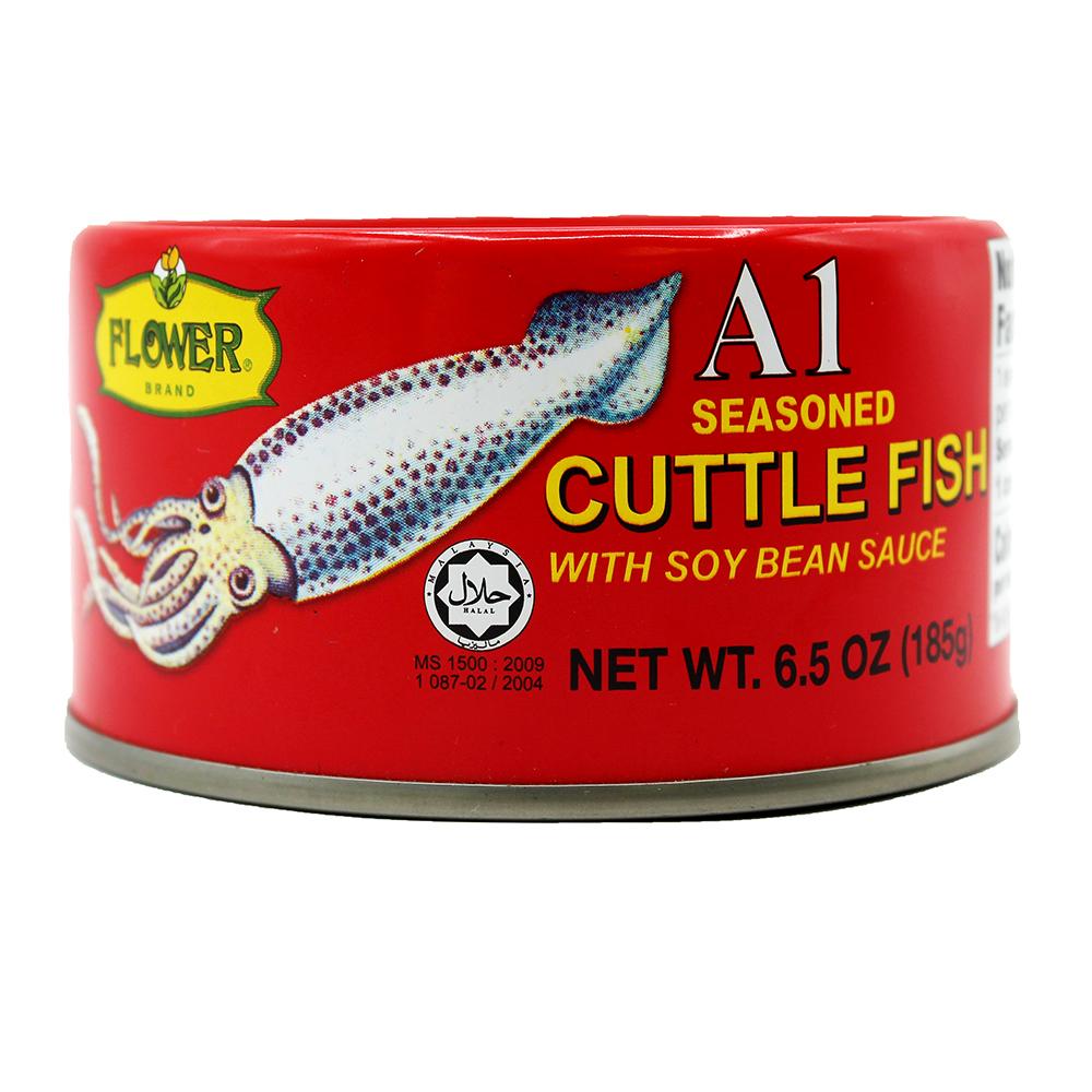 FLOWER Cuttler Fish W/soy Bean Sauce 6.5 Oz