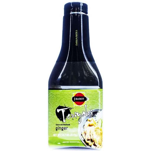 J-BASKET Teriyaki Ginger Sauce And Marinade 14.7 OZ