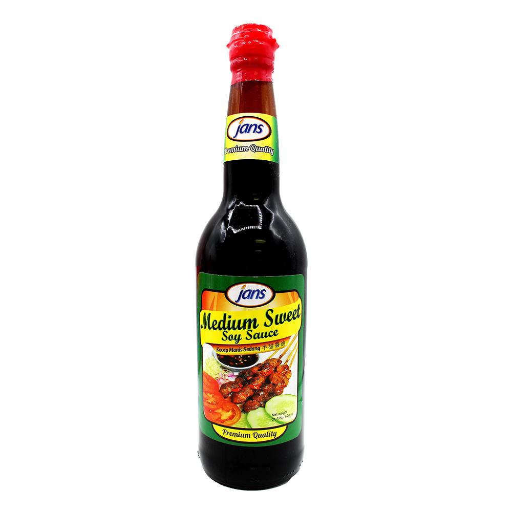 JANS Medium Sweet Soy Sauce 24 OZ