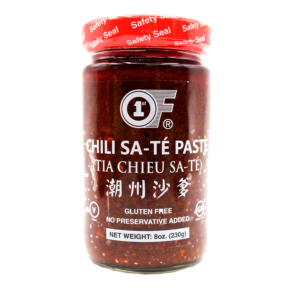 1ST OF Chili Sate Paste / Tia Chieu Sate 8 OZ