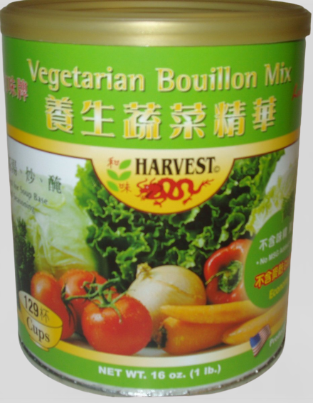 HARVEST Vegetarian Bouilllon Mix / Gia Vi Tinh Chat Rau Cai 16 OZ