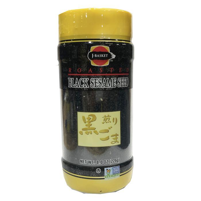 medium j basket roasted black sesame seed 8 oz mVDt3bWjZ