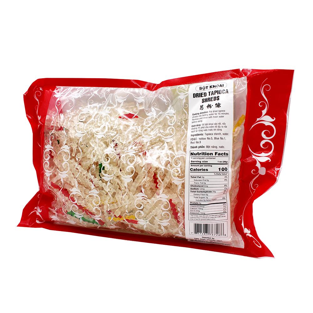 medium first world dried tapioca shreds bot khoai 88