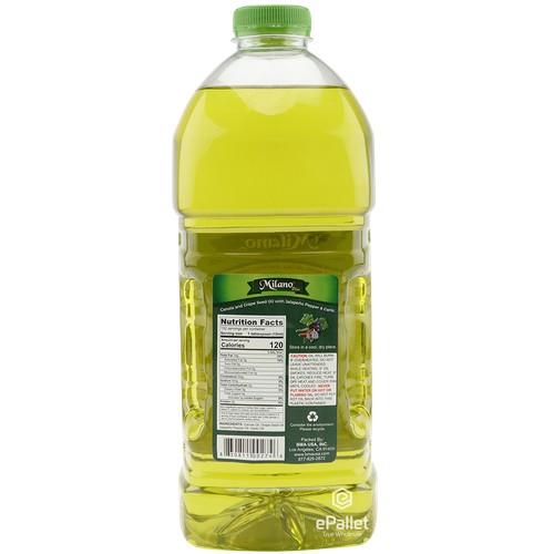 MILANO Canola And Grape Seed Oil 67.6 FL OZ