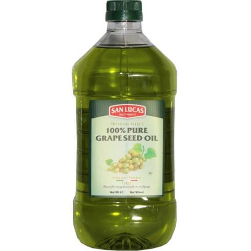 SAN LUCAS 100% Pure Grape Seed Oil 2 LIT