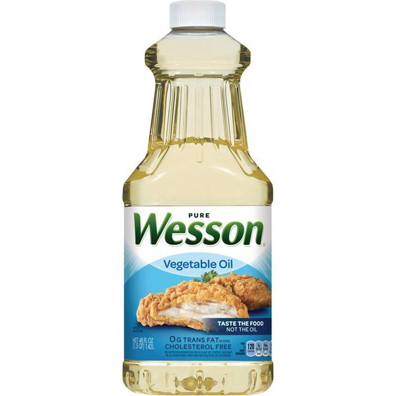 WESSON Vegetable Oil 48 OZ