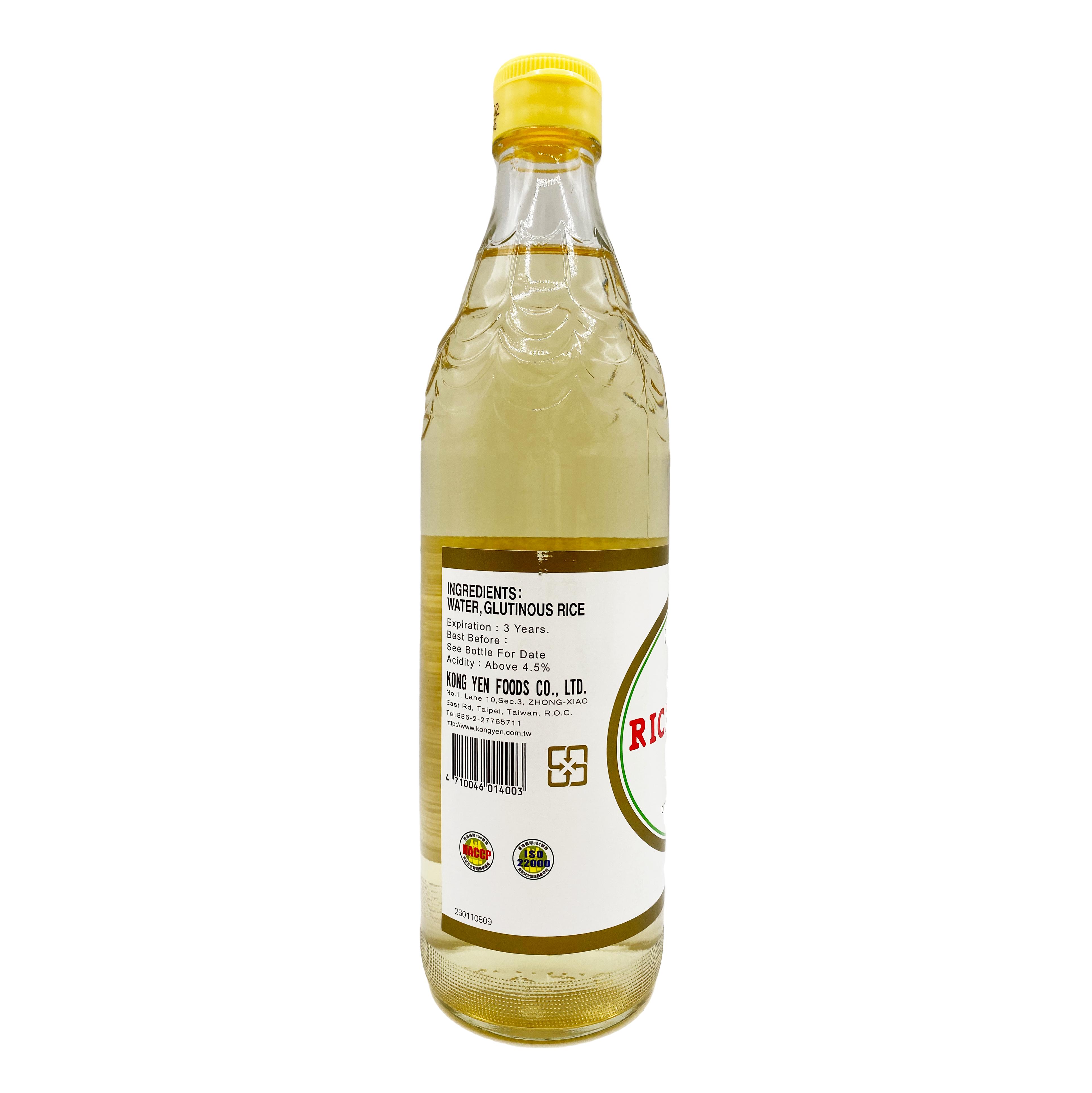 medium kong yen glutinous rice vinegar 202 fl