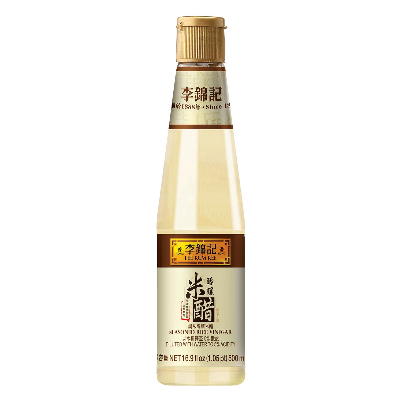 LEE KUM KEE Seasoned Rice Vinegar 16.9 FL OZ