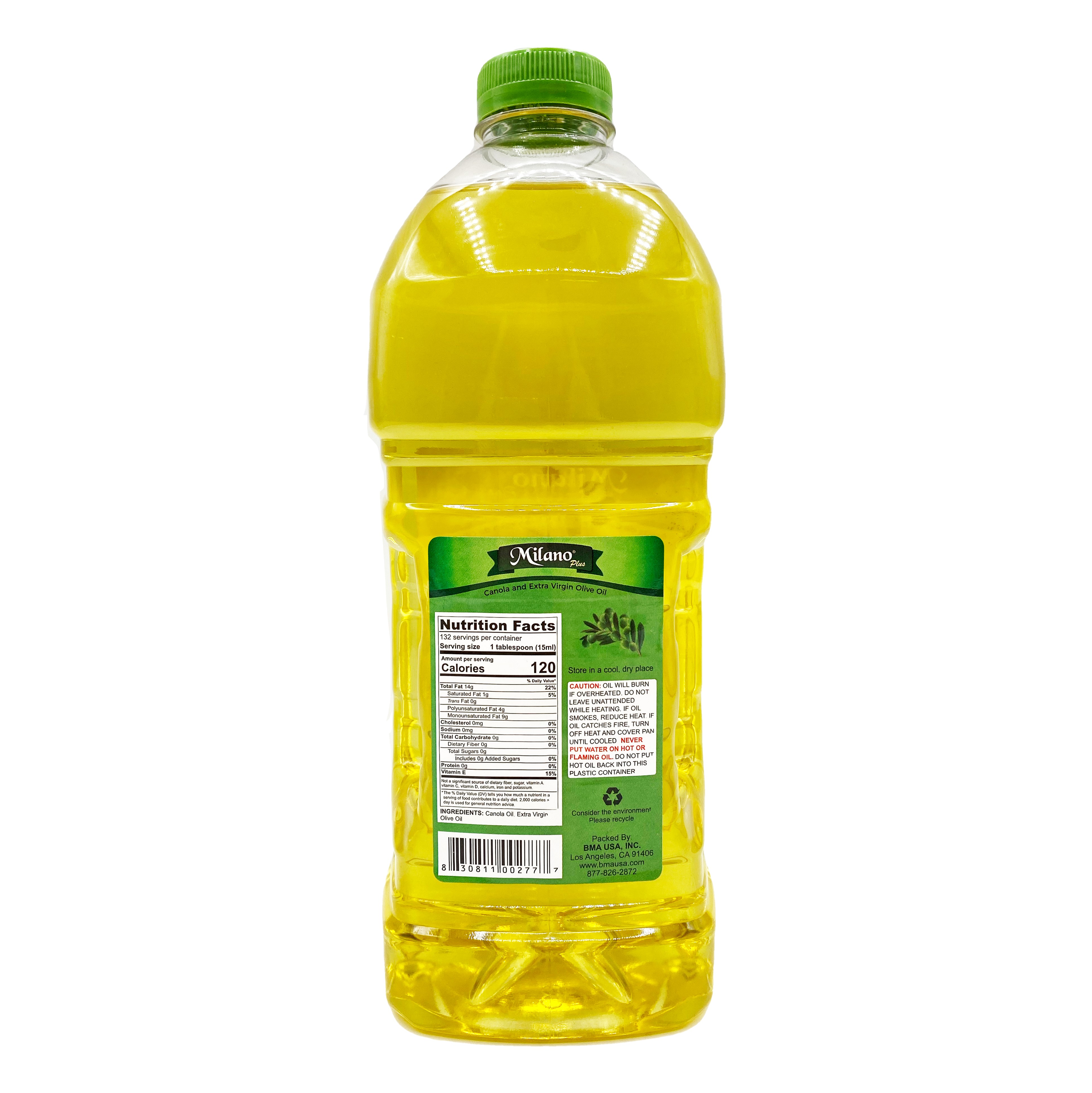 medium milano canola and extra virgin olive oil 2 lit paUUA rvB