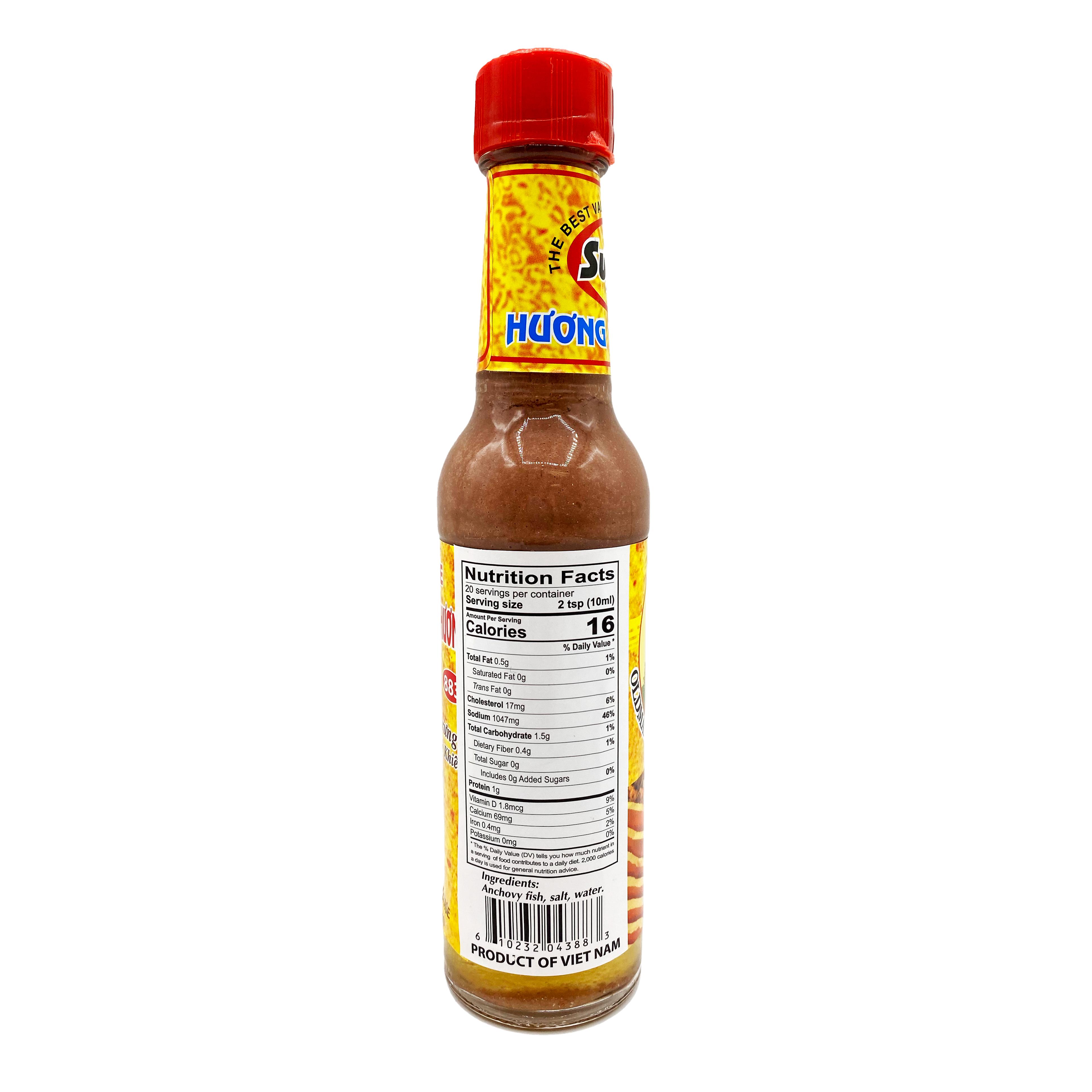 OLDMAN QUE HUONG Fish Sauce / Mam Nem (883) 7 FL OZ