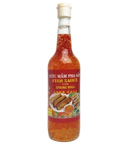ROCKMAN Sweet And Delicious Fish Sauce For Spring Rolls / Nuoc Mam Pha San 27.5 OZ