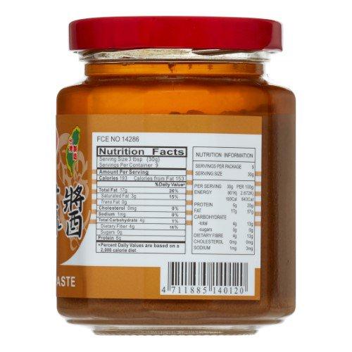medium tf sze chuan sesame paste 9 oz BYK1au7sjn