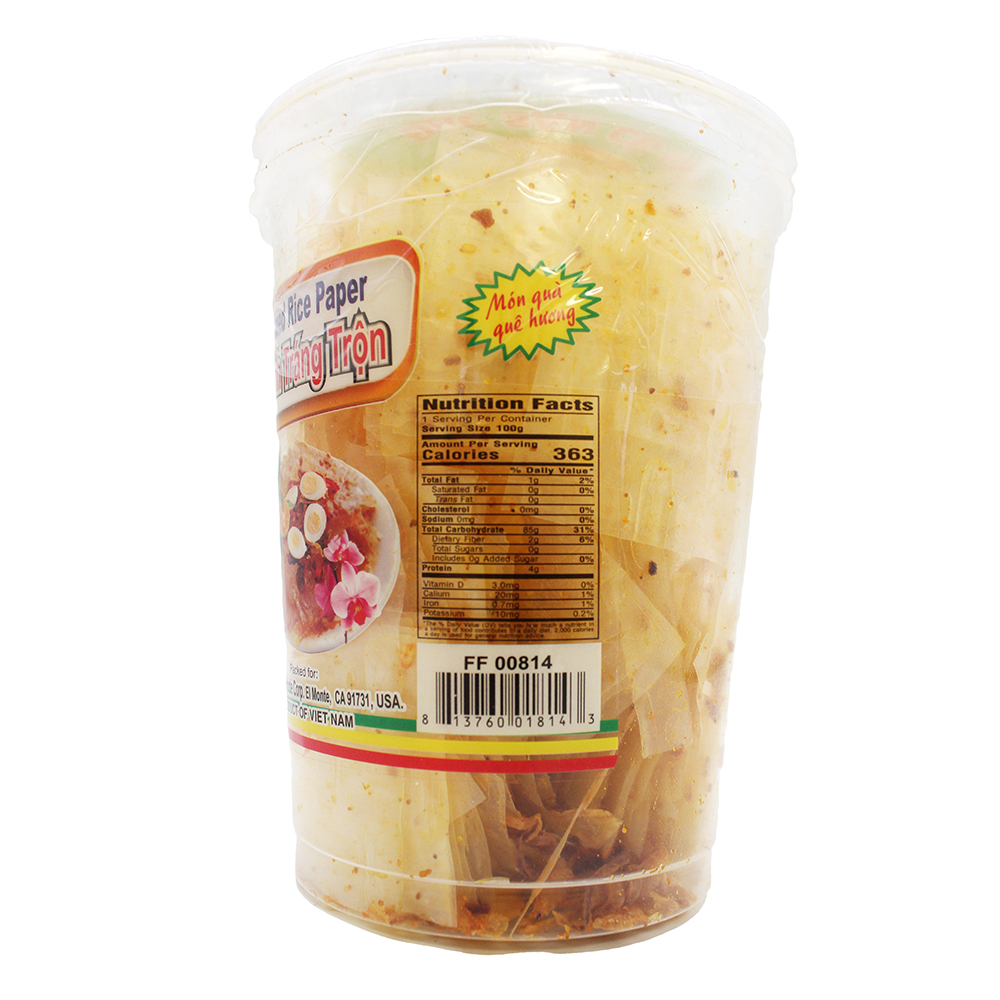 medium happy elephant mixed rice paper banh trang tron 352 oz K 1m7TnbI
