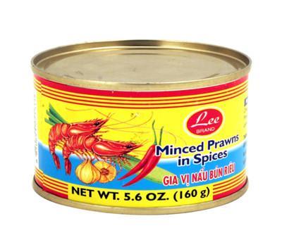 LEE Minced Prawns In Spices / Gia Vi Nau Bun Rieu 5.6 OZ