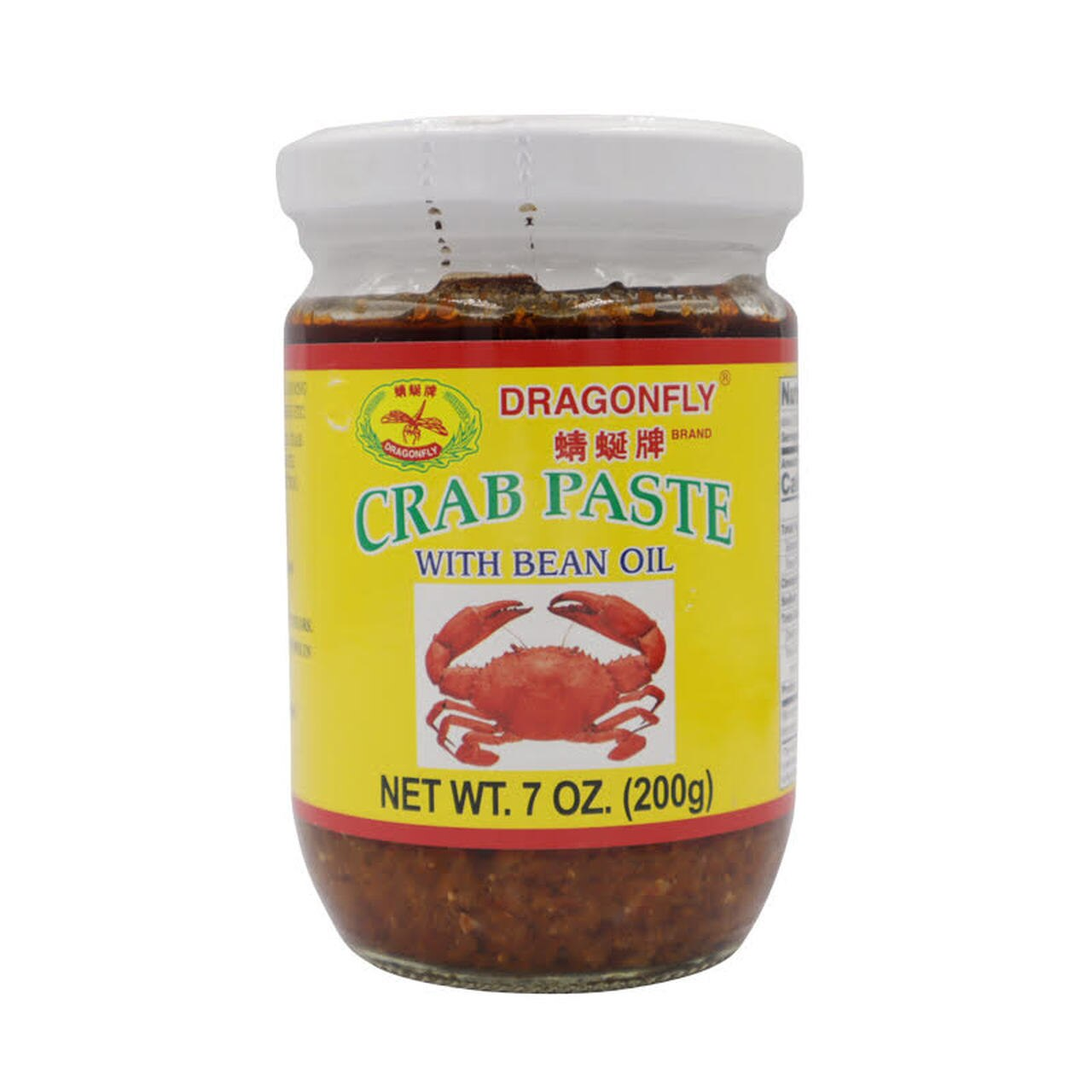 DRAGONFLY Crab Paste With Bean Oil 7 OZ