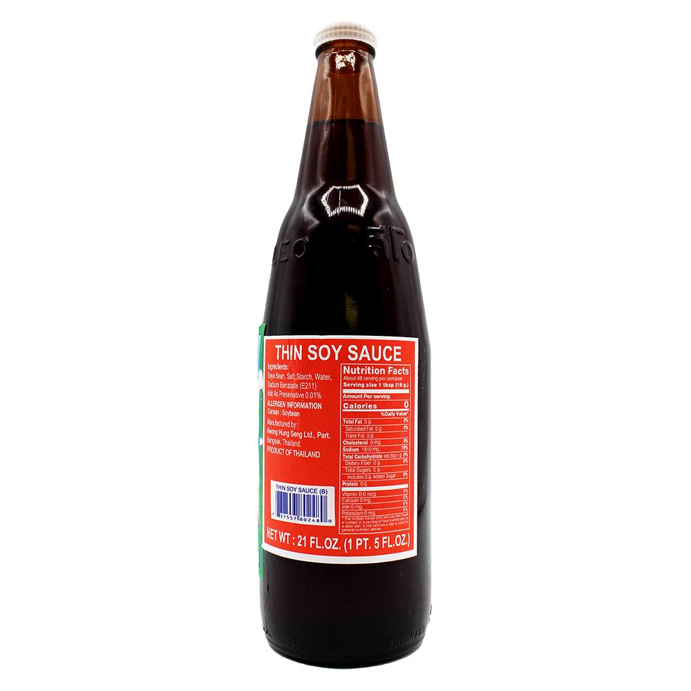 KWONG HUNG SENG Thin Soy Sauce 21 FL OZ