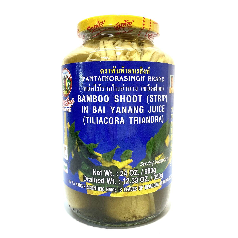 medium pantai bamboo shoot strip in bai yanang juice 24 oz OpvI2NKts