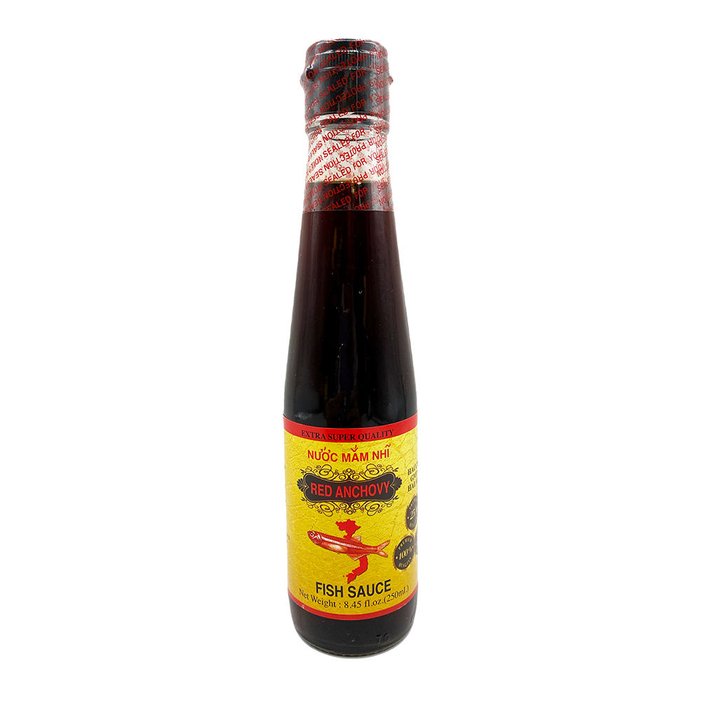 RED ANCHOVY Fish Sauce / Nuoc Mam Nhi 8.45 Fl OZ
