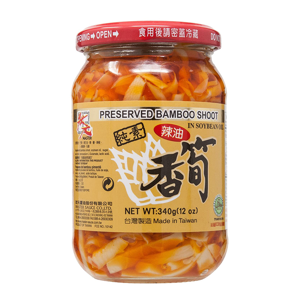 MASTER Bamboo Shoot in Chili Soybean Oil 12 OZ