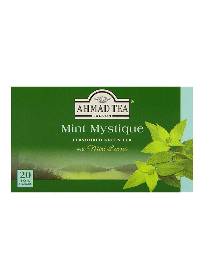 medium ahmad tea london mint mystique green tea 20