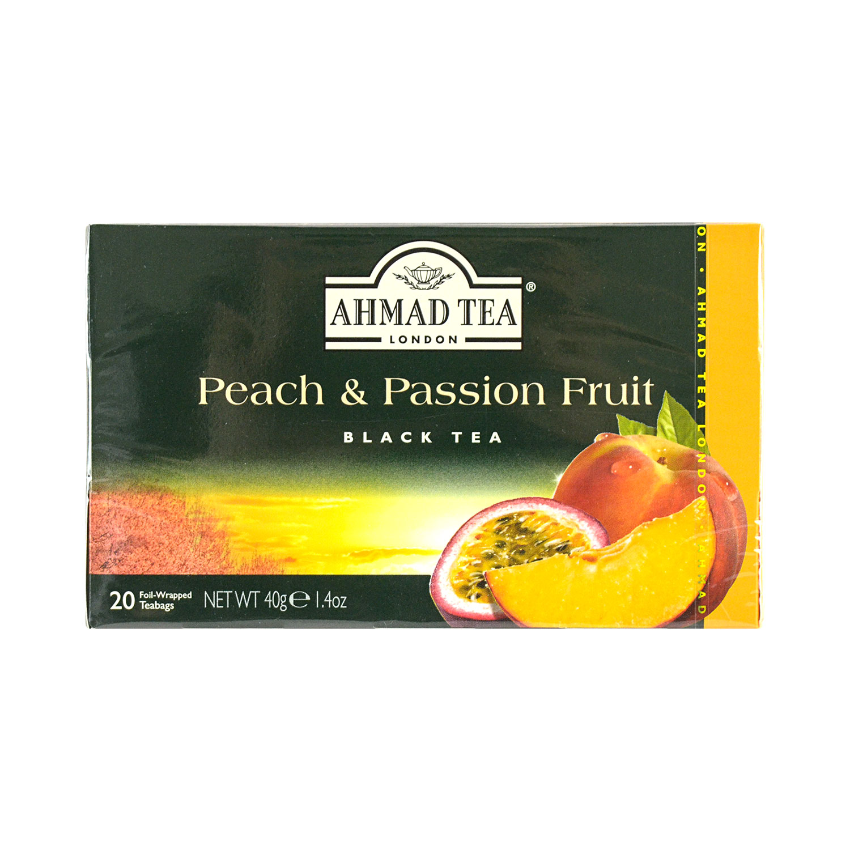 medium ahmad tea london peach passion fruit black tea 20 bags Ucy7qz2F0g