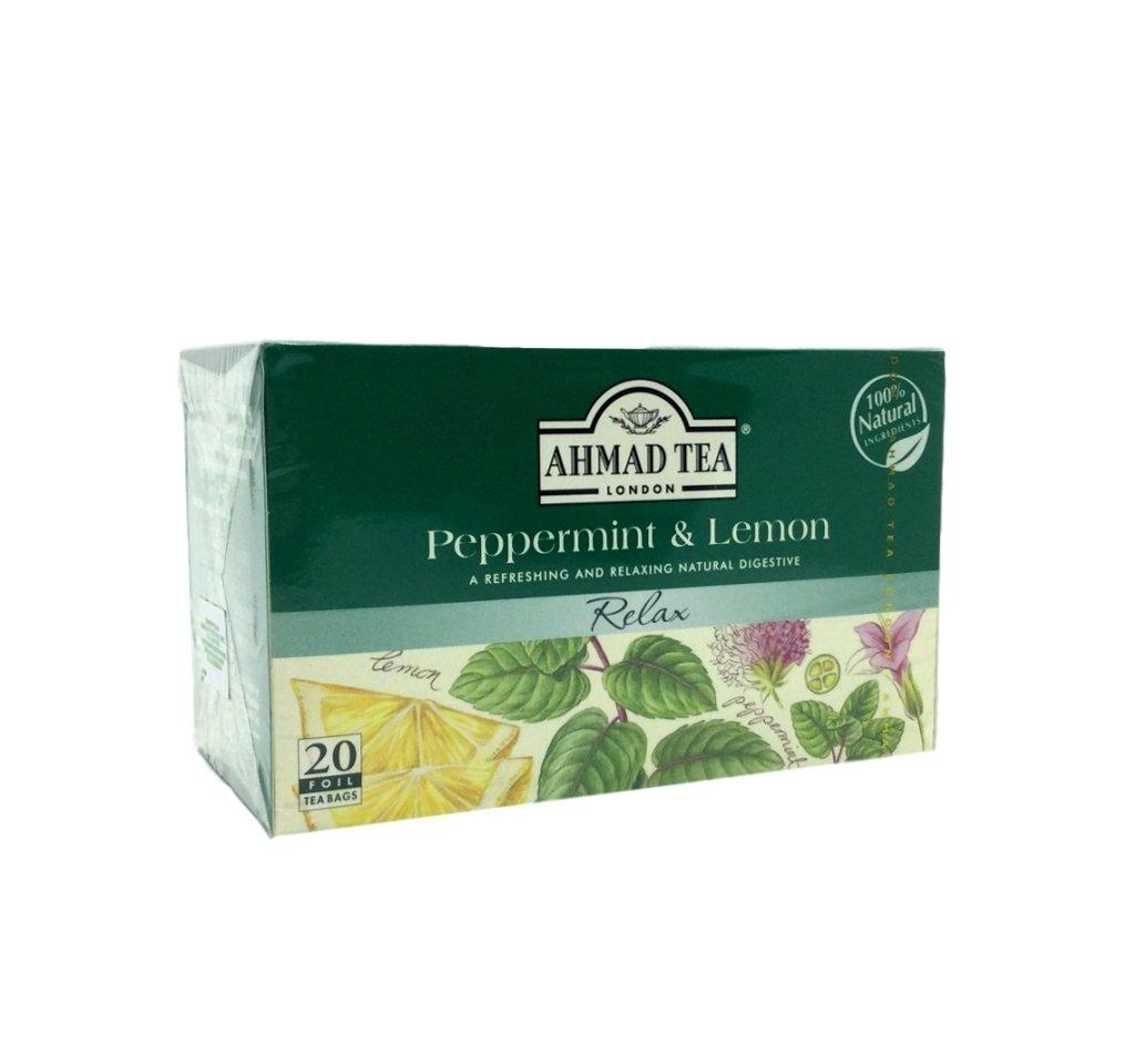 medium ahmad tea london peppermint lemon tea 20 bags rPPienaXv