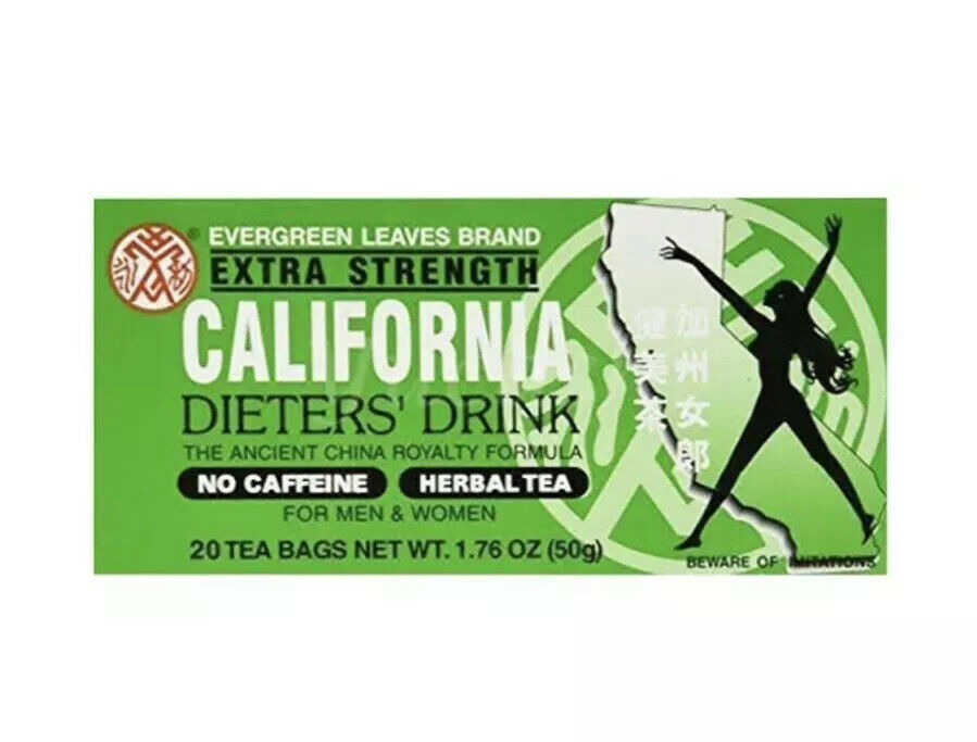 EVERGREEN LEAVES Extra Strength California Dieters' Drink 1.76 OZ