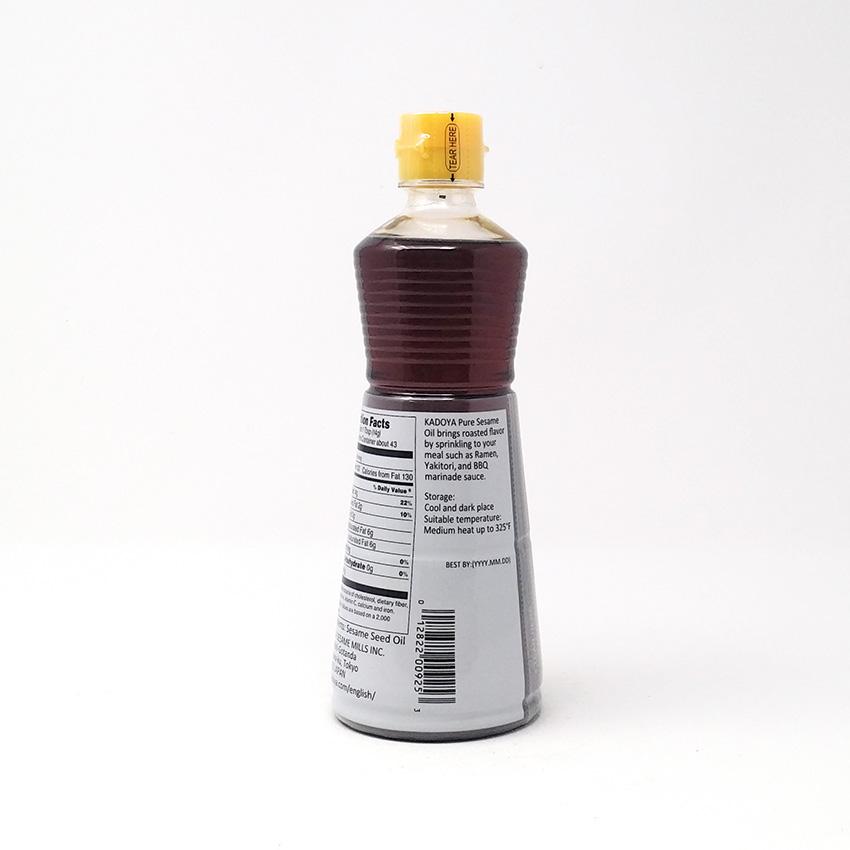 KADOYA Pure Sesame Oil 22.1 Fl OZ