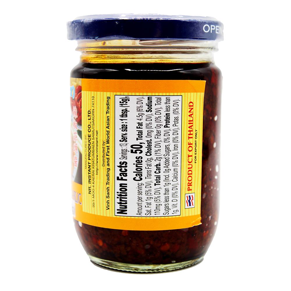 medium lee ground chili fried garlic tuong ot satay 8 oz y9Uvy0wvz