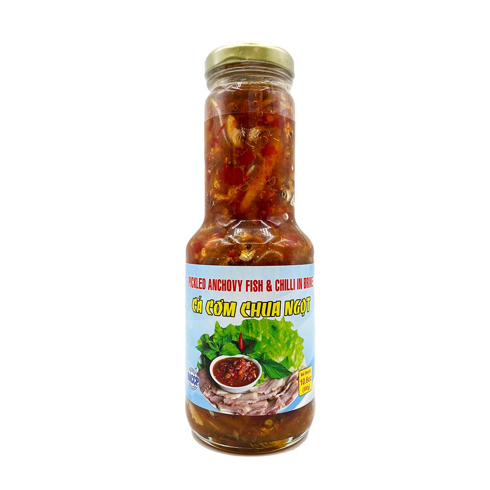 medium rockman pickled anchovy fish chili in brine ca com chua ngot 106 oz 8LclDZahC