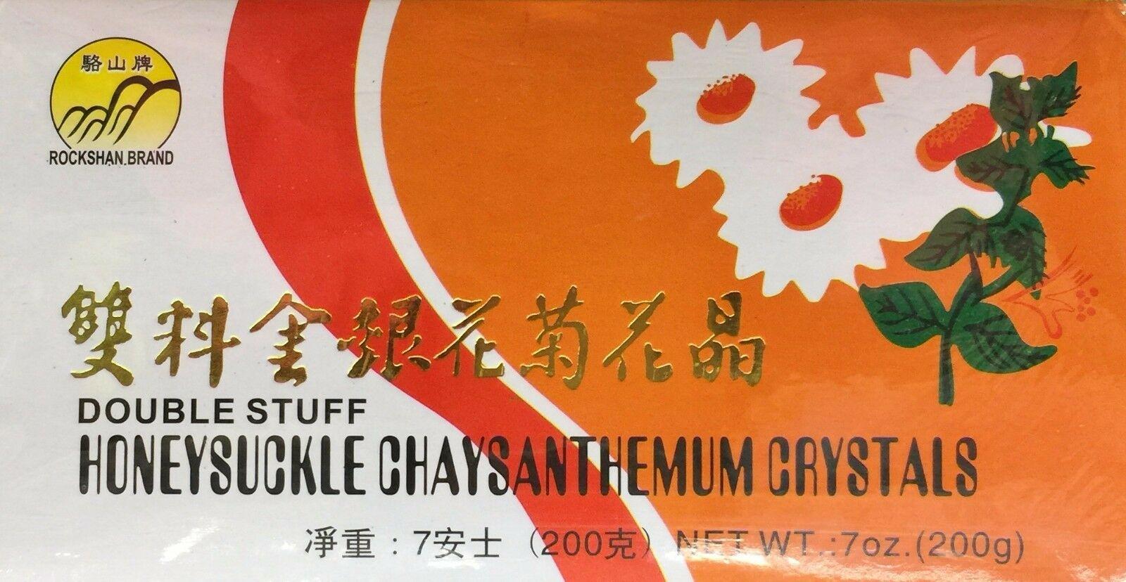 ROCKSHAN Double Stuff Honeysuckle Chaysanthemum Crystals 7 OZ