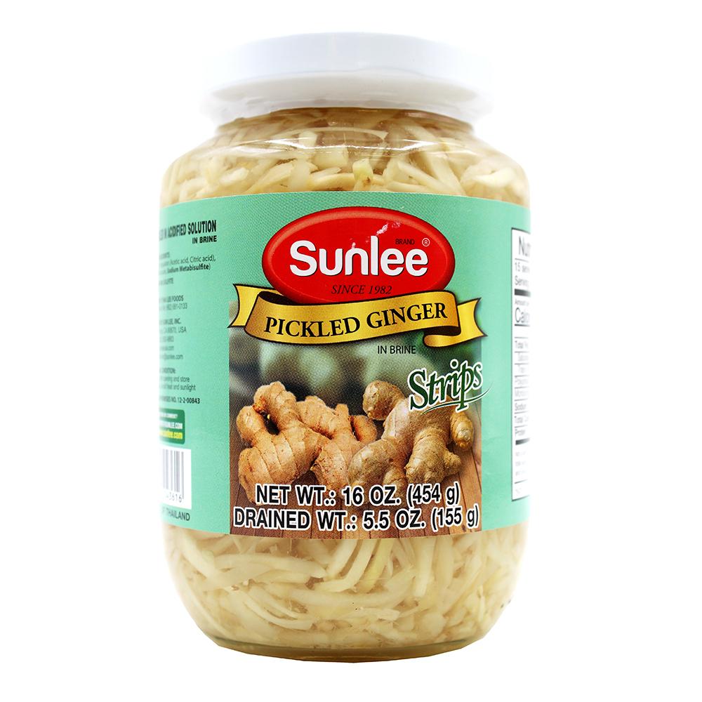 SUNLEE Pickled Ginger Strips 16 OZ