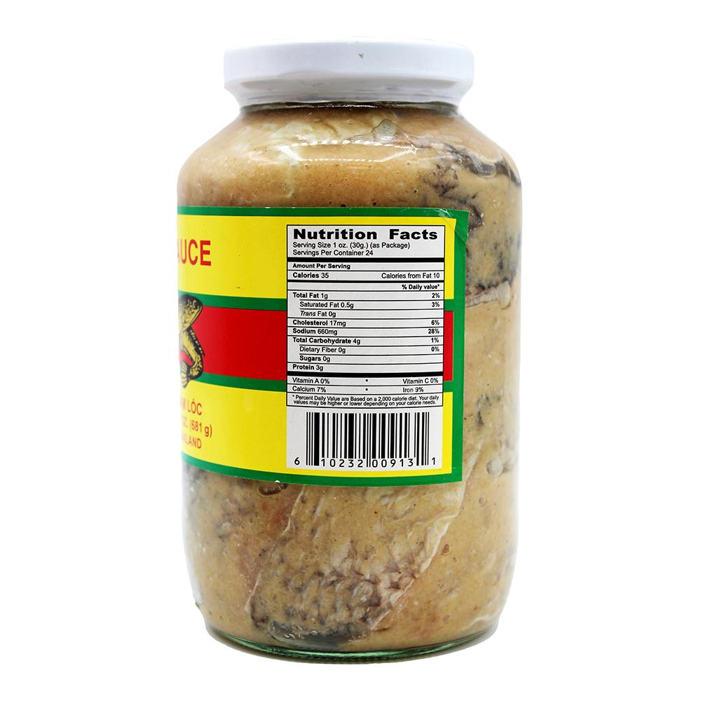 medium super fish sauce mud fish mam ca loc 24 oz cGsz1f