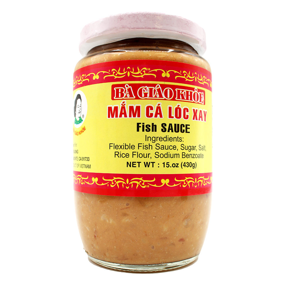 BA GIAO KHOE Mam Ca Loc Xay / Fish Sauce 15 OZ
