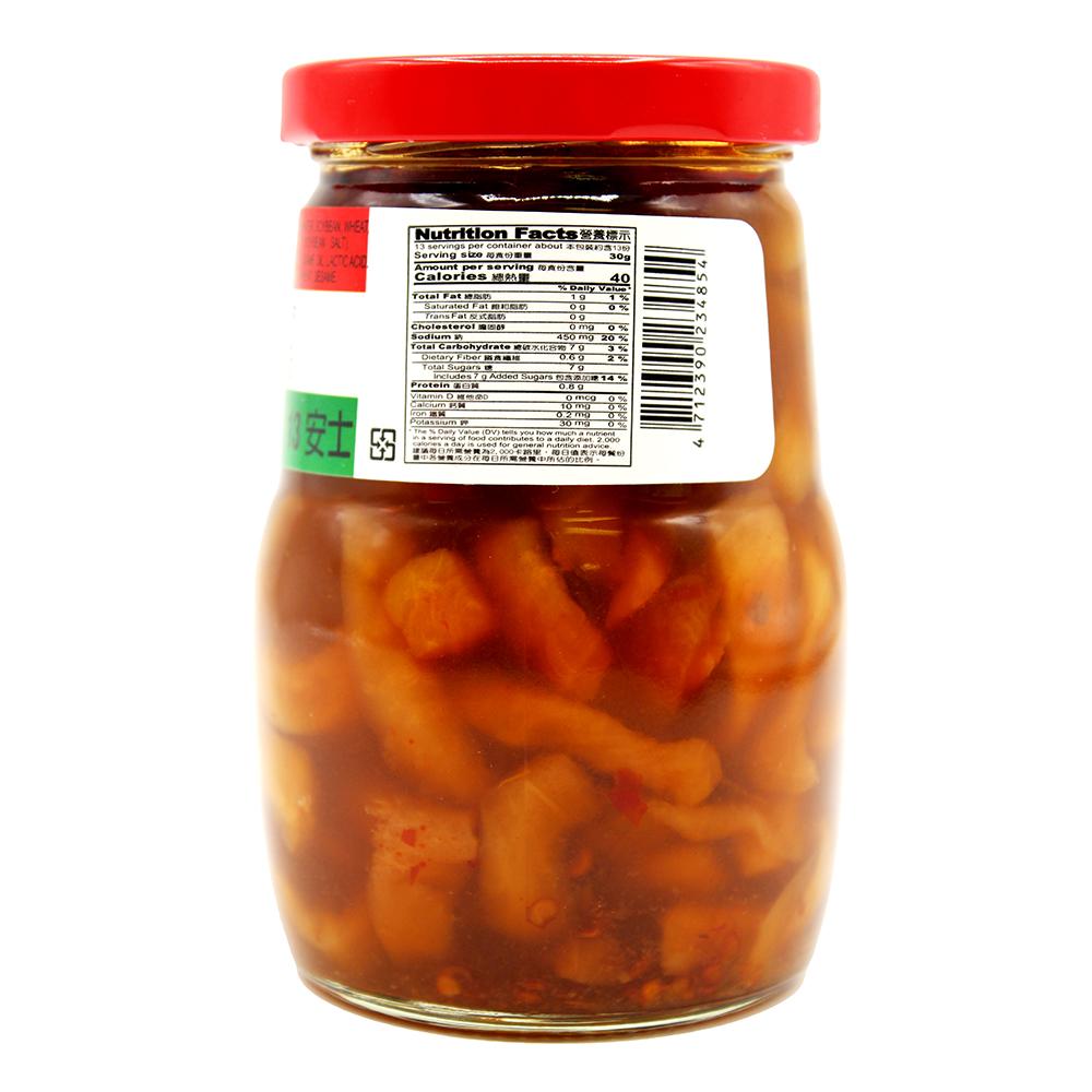 medium cachede chef chili radish strip in soy sauce 13 oz CNsRlBGCb