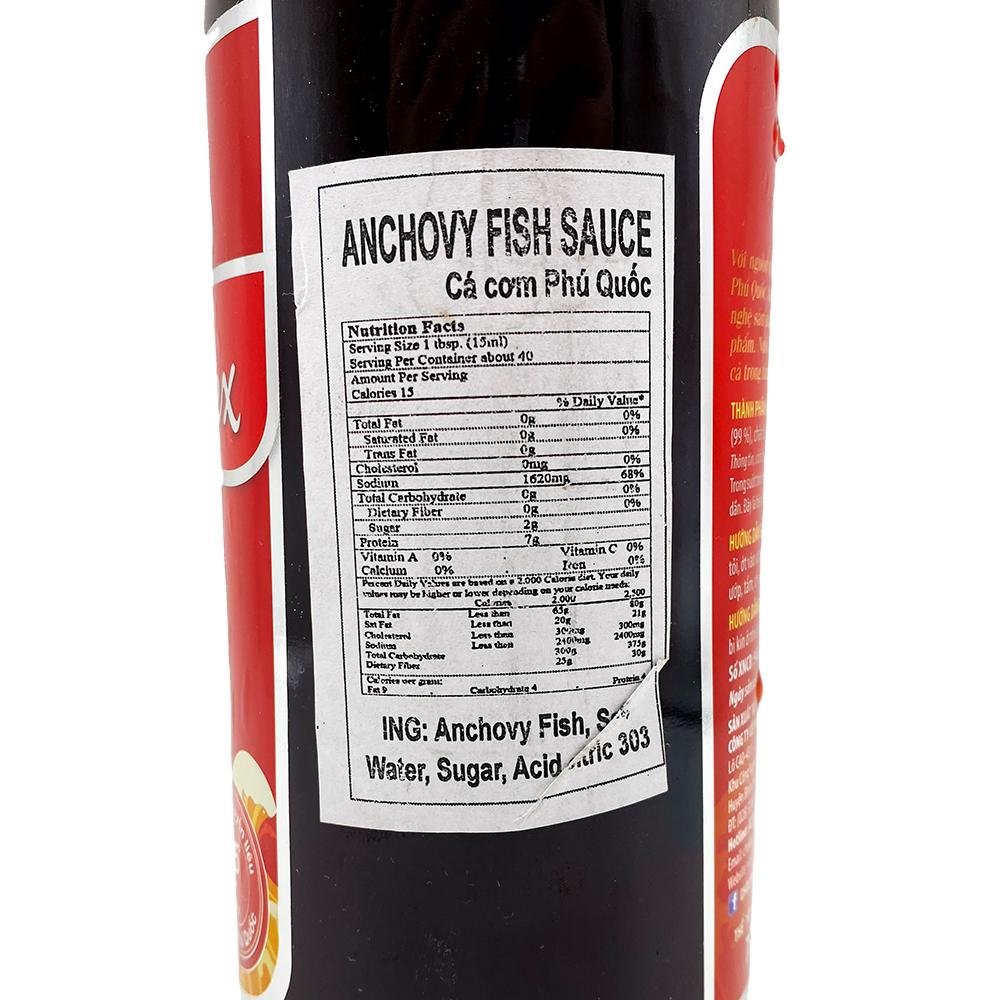 medium cholimex anchovy fish sauce nuoc mam ca com phu quoc 750 mil uBWiOm Vk